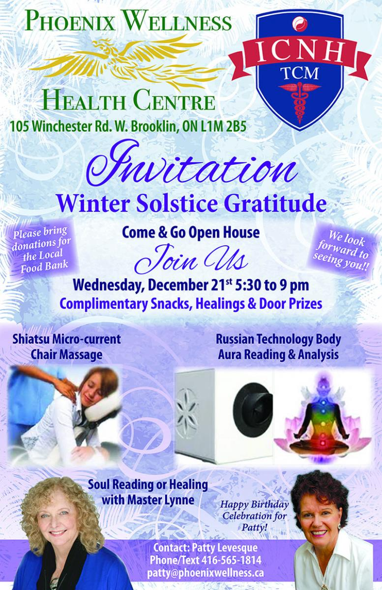 Winter Solstice Gratitude Open House